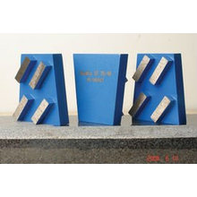 Keilblock / Diamantschleifwerkzeuge mit 4 quadratischen Segmenten