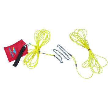 Seil- und Kettensäge mit hoher Gliederzahl mit 24-Inch-Kette