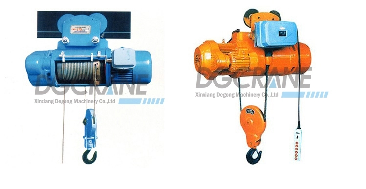 MD type wire rope electric hoist