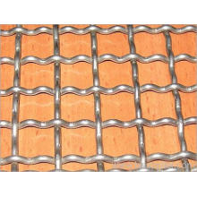 Well Galvanized Crimped Wire Mesh