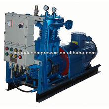 ac power high pressure air compressor for PET bottle blowing 90Kw 5Mpa Biogas Compressor