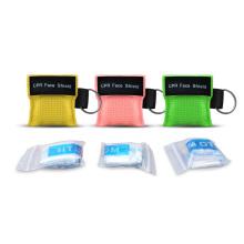 Mini CPR Training Kits facial Shield