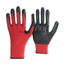 NMSAFETY vente chaude stock noir gants en nitrile