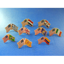 National Flag Lapel Pin, Flag Badge (GZHY-NB-005)