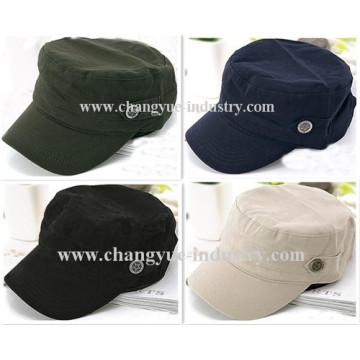 Chapeau Casquette militaire de promotion en gros coton blanc