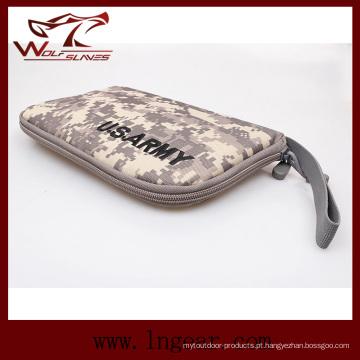 Airsoft tático militar arma portátil coldre pistola Carry Bag Bolsa pistola mão arma caso macio 4 cores