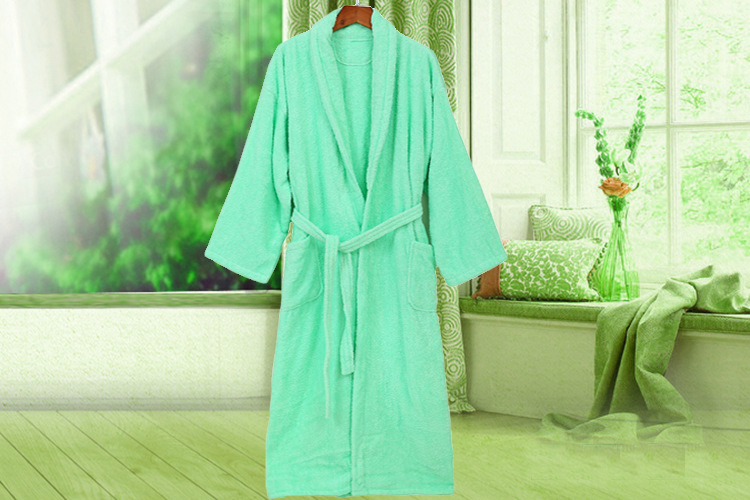 Long Shower Robe