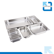 Multi-tamaño de acero inoxidable Gastronorm contenedor Gn Pan