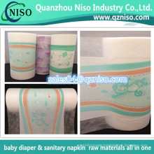 Printed PE Film of Diaper Raw Material, Breathable PE Film Backsheet