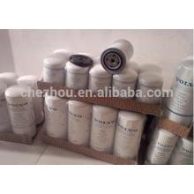 Filtre à huile 21707132, filtre pour excavatrice de fabricant chinois