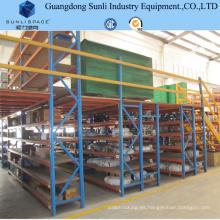 Solución de almacenamiento Heavy Shelf Store Mezzanine Floor Rack
