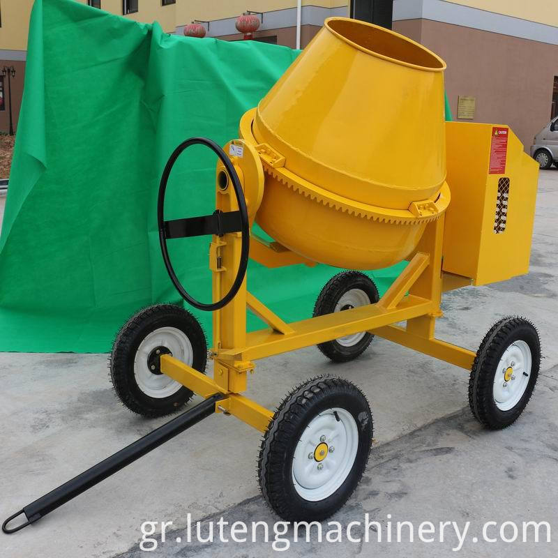 600L Electric Motor Concrete Mixer1