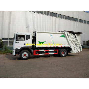 3000 جالون DFAC Compressed Garbage Trucks