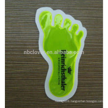 foot shape Reflective sticker / Reflective decal in sticker / light reflective stickers