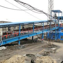 Transportador de cantera para trabajos pesados de normas DIN / ASTM / Sha / Cema