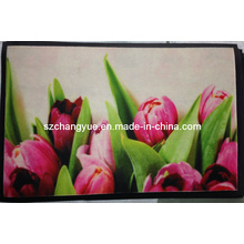Digital Printed Polyester Mats with PVC Backing