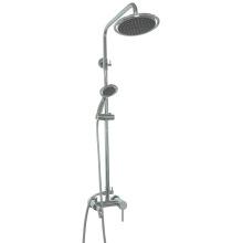 Mezclador redondo de la ducha del cuarto de baño de los sanitarios del latón sólido (1015)