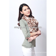 Women High Quality Fashion Leopard Printing All March Long Scarf