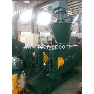 Low power cheap double roller granulator machine for pellet making