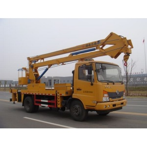mini tracked towable cherry picker truck for sale