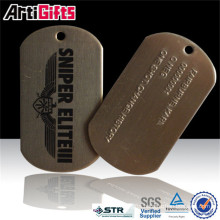 High quality medieval suit of armor steel dog tag