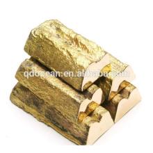 Vente chaude de haute qualité lingot de cuivre 99,99% avec un prix raisonnable et une livraison rapide !!