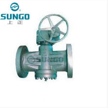 Сбалансированный смазываемый пробковый клапан с обратным давлением