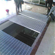 Grating Galvanized Steel Grating yang ditekan