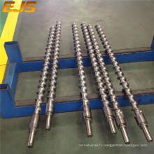 extrudeuse en caoutchouc vis pour machine d'extrusion de pvc fil