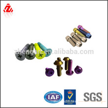 high quality Titanium decorative bolt