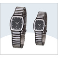 Factory OEM New Style Fashion Cheap Stainless Steel Couple Wrist Watches for Couples