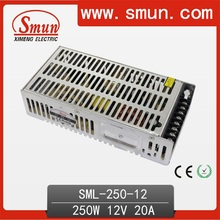 Smun 250W 12VDC 20A Switching Power Supply 2 года гарантии