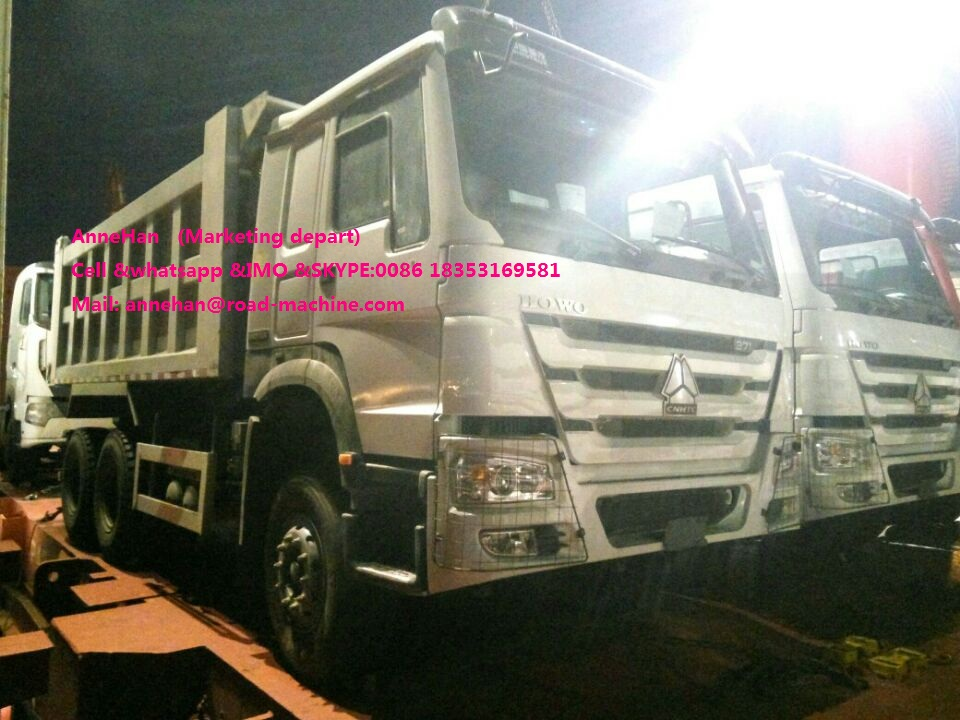 Sinotruk Dump Cargo Truck Delivery Ptos 1