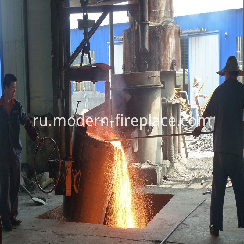 Wood Burning Stoves Outdoor Production