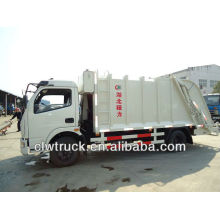 6000L dust cart, dust cart with compactor,with hanging trash