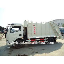 6000L carrinho de pó, carrinho de pó com compactador, com lixo pendurado