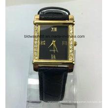 Werbeartikel Kleine Armbanduhr mit Lederarmband