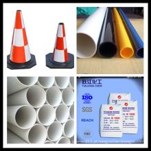 Tubo de PVC Usado TiO2 com preço mais baixo