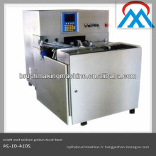 2014 vente chaude 4 axes horizontale chinoise brosse à dents tufting machine