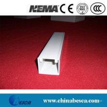 Trunking blanc / gris de câble de PVC (UL, CEI, GV et CE)