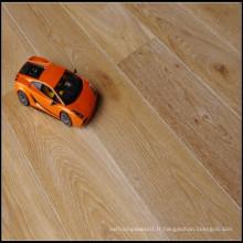 Matériau de construction Brossé blanc huilé Engineered Oak Flooring