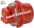 Excavator final drive, track drive, travel motor