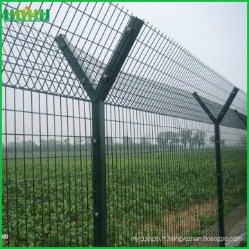 Entrepôt et clôture soudés à l'aéroport de haute qualité pour l'autoroute