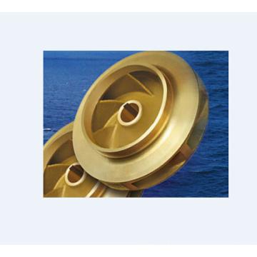 Roue à aubes de pompe de bronze adaptée aux besoins du client / ASTM / ANSI