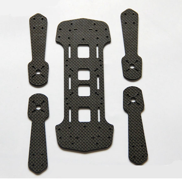 Carbon fiber cnc cutting
