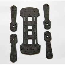 Good Quality for OEM Carbon Fiber Plates CNC cutting Customized Carbon fiber plate export to South Korea Wholesale