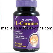 Natrol L-carnitina quema grasa peso pérdida que adelgaza la cápsula (MJ - 500 mg * 30caps)