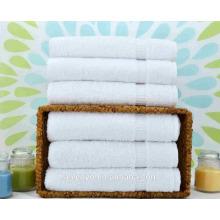serviettes de bain par le tissu de serviette en vrac pur blanc Ensembles de serviettes TS-020