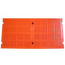 Polyurethane modular dewatering screen mesh