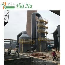 Máquina de alta calidad del sistema del depurador del biogás del espray para el generador de la caldera